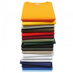 Personalised T Shirt Super Premium Fruit of the loom White 190gsm, Colours 205gsm with custom design printed