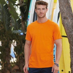 Personalised T Shirt Sofspun® T Fruit of the loom 165 with custom design printed