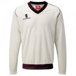 Plain Fleece Lined Sweater - Junior Surridge 260 GSM