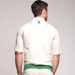 Plain Curve sleeveless sweater Surridge 260 GSM