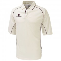 Plain Premier Shirt ¾ Sleeve- Junior Surridge