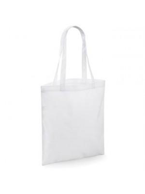 Sublimation shopper tote bags
