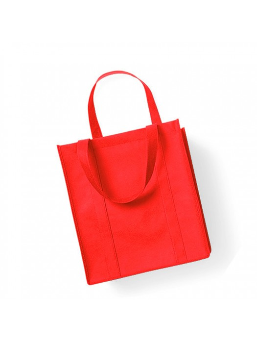 Red Non-Woven Polypropylene Super shopper