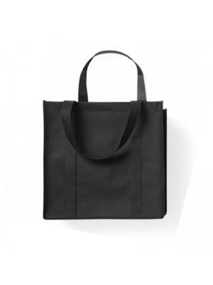Black Non-Woven Polypropylene Super shopper