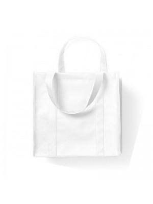 White Non-Woven Polypropylene Super shopper