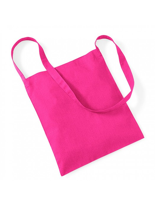 Fuchsia Westford Mill Sling cotton tote bag