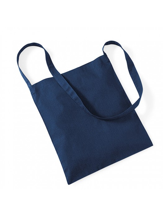 French Navy Westford Mill Sling cotton tote bag