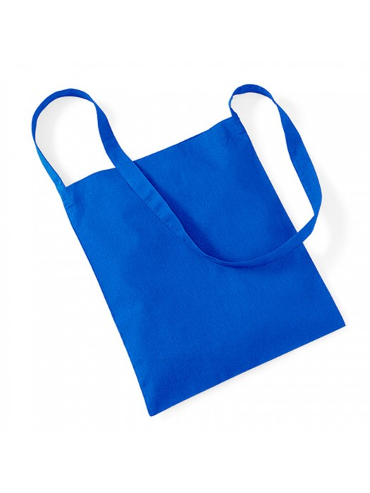 Royal Blue Westford Mill Sling cotton tote bag