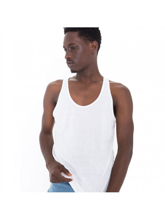 American Apparel Sublimation Sleeveless Vest 100% polyester