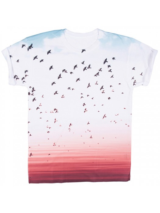 Plain White Xpres Sublimation T Shirt 100% polyester