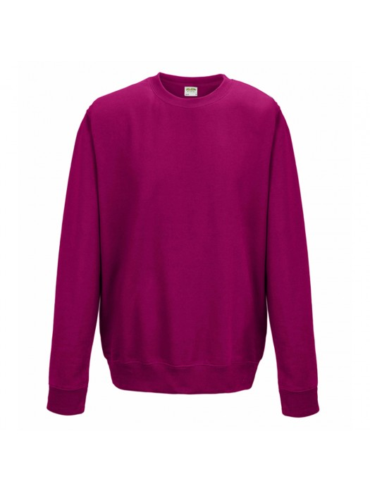 Plain AWD Hot Pink crew neck sweatshirt