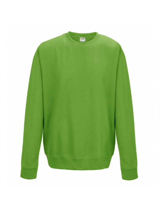Plain AWD Lime Green crew neck sweatshirt