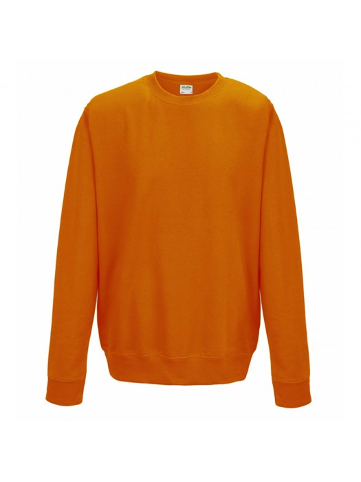Plain AWD Orange Crush crew neck sweatshirt