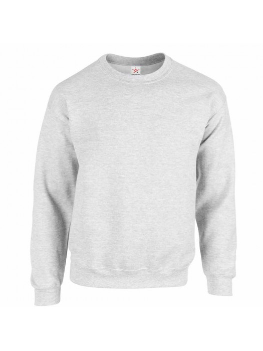 Plain Ash crew neck sweatshirt