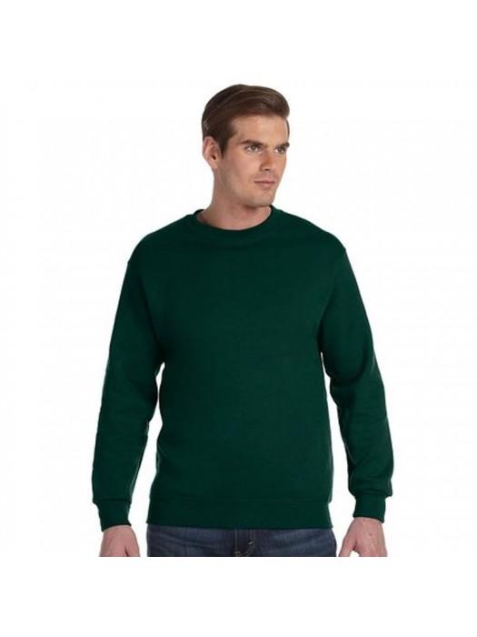 Plain Bottle Green crew neck sweatshirt