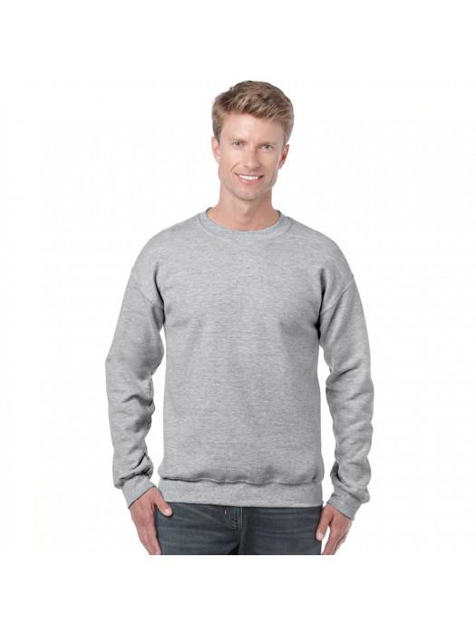 Plain Sports Grey crew neck sweatshirt
