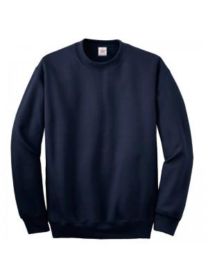 Plain Navy crew neck sweatshirt