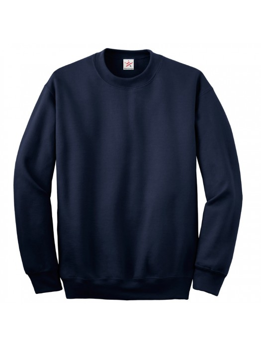 Plain Navy crew neck sweatshirt