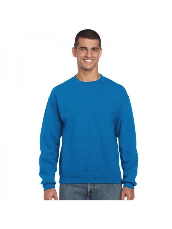 Plain crew neck sweatshirt 320 GSM. Zoom 0b473c1f97f4
