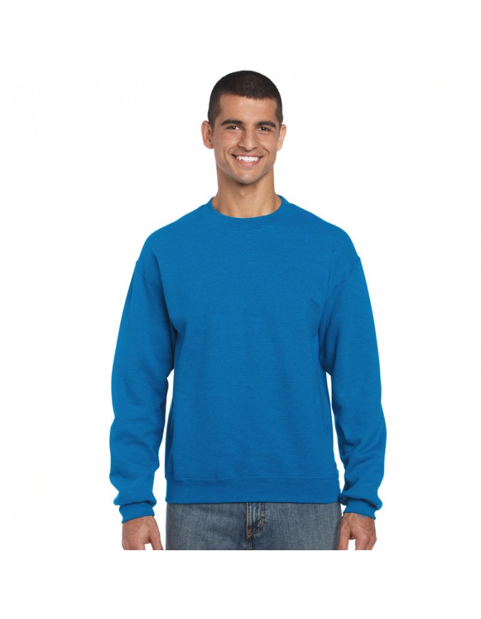 Plain crew neck sweatshirt 320 GSM