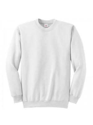 Plain White crew neck sweatshirt