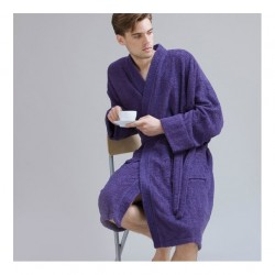 Plain Kimono robe towel TOWEL CITY 400 GSM