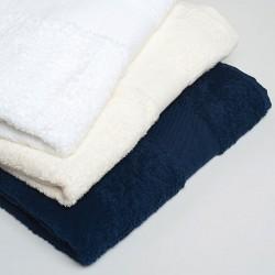 Plain Egyptian cotton bath sheet TOWELS TOWEL CITY 600 GSM