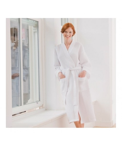 Plain Waffle Robe towel TOWEL CITY 225 GSM