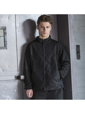 Plain Full Zip Lined Training Top TOMBO 115 GSM