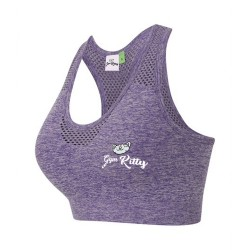 Gym Wear Crop Top LADIES SEAMLESS Gym Kitty Fitness Training, Yoga