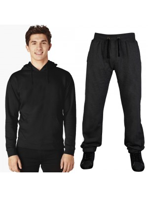 Classic Hooded Tracksuit Bottoms Set