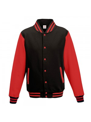 AWD Black/Red College Varsity Jackets