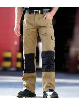Plain DUO TONE GRAFTER TROUSERS DICKIES 290 GSM