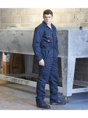Plain LINED COVERALL DICKIES 300 GSM