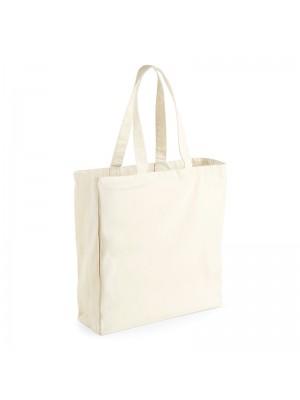 Plain W/Mill Canvas Classic Shopper BAGS WESTFORD MILL 200 GSM