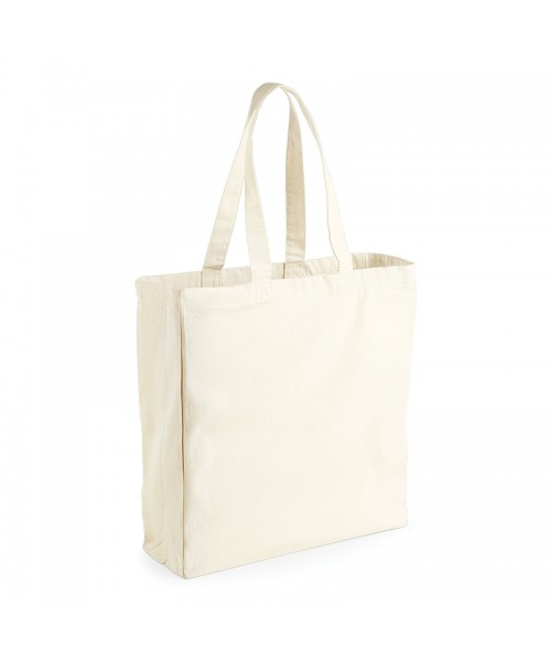 Plain W/Mill Canvas Classic Shopper BAGS WESTFORD MILL 200 GSM