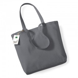 Plain Organic cotton shopper BAGS WESTFORD MILL 98 GSM