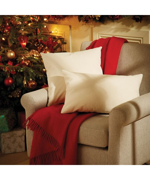 Plain Fairtrade cotton canvas cushion cover WESTFORD MILL S – 110, M - 115, L - 110 GSM