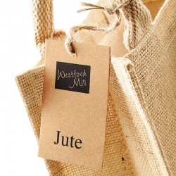 Plain Jute petite gift bag WESTFORD MILL 105 GSM