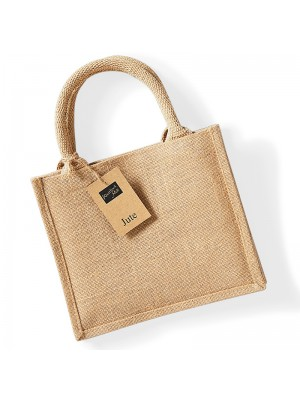 Plain Jute mini gift BAGS WESTFORD MILL 140 GSM