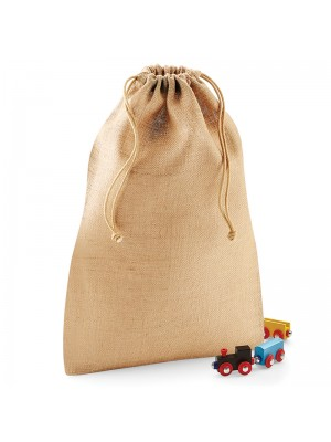 Plain Jute stuff bag BAGS WESTFORD MILL XXS - 15g, XS - 21g, S - 47g, M - 77g, L - 130g, XL - 220g GSM