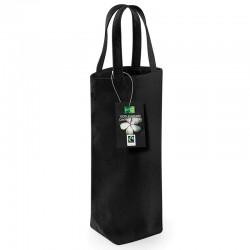 Plain Fairtrade cotton bottle bag BAG WESTFORD MILL 72 GSM
