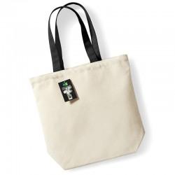 Plain Fairtrade cotton camden shopper BAGS WESTFORD MILL 200 GSM