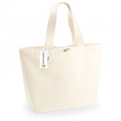 Plain EarthAware™organic marina tote XL BAGS WESTFORD MILL 308 GSM