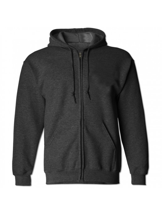Plain Charcoal Zip up starsNstripes Hoodie