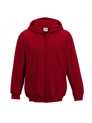 KIDS  Fire Red AWD Hoodie Zip up
