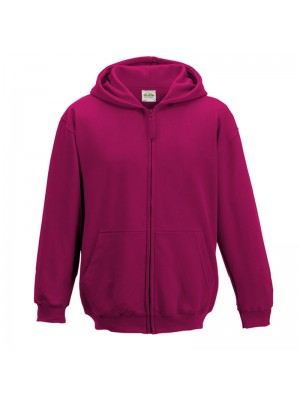 KIDS Hot Pink AWD Zip up Hoodie