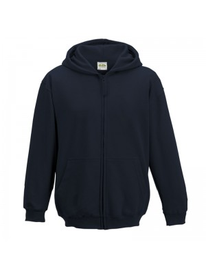 KIDS Oxford Navy AWD Zip up Hoodie