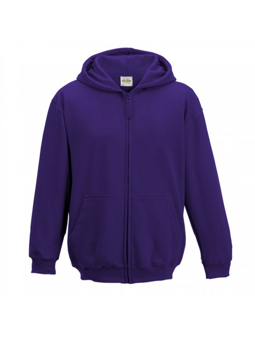 KIDS Purple AWD Zip up Hoodie