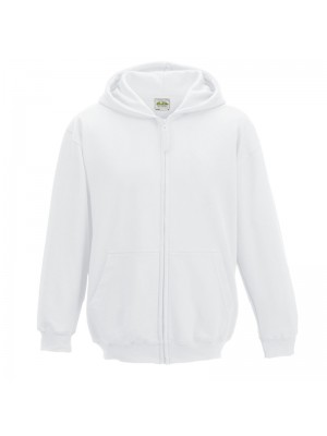 KIDS Arctic White AWD Zip up Hoodie
